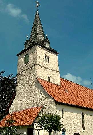 Die St.-Nikolai-Kirche in Bad Sachsa