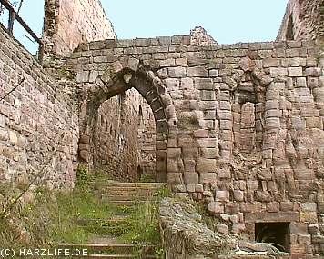 Burgruine Rothenburg - Palas